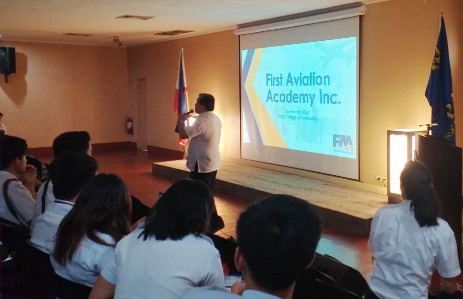 FAA Career Talk with PATTS College of Aeronautics' Graduating Students